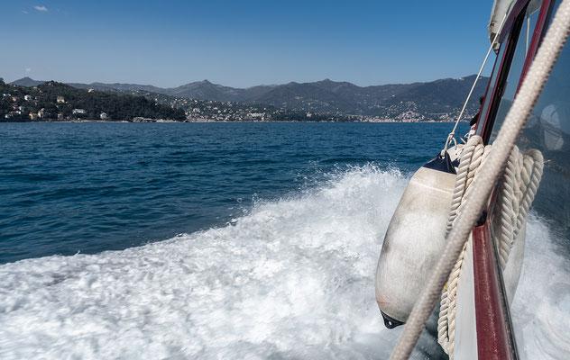Auf dem Weg nach Santa Margherita