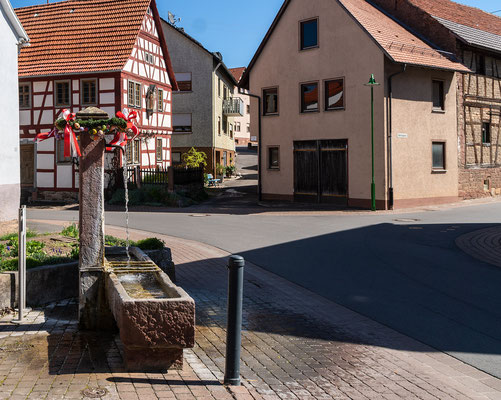 Gießgrabenbrunnen, Külsheim, TBB
