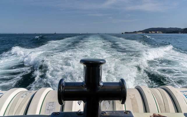 Überfahrt nach La Spezia