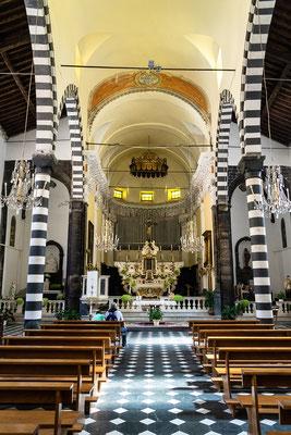 Kirche St. Giovanni Battista in Monterosso