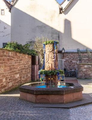 Wenzelbrunnen, Wertheim, TBB