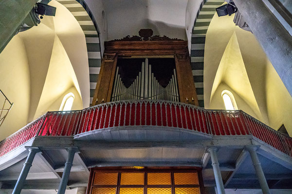 Die Kirche St. Giovanni in Manarola