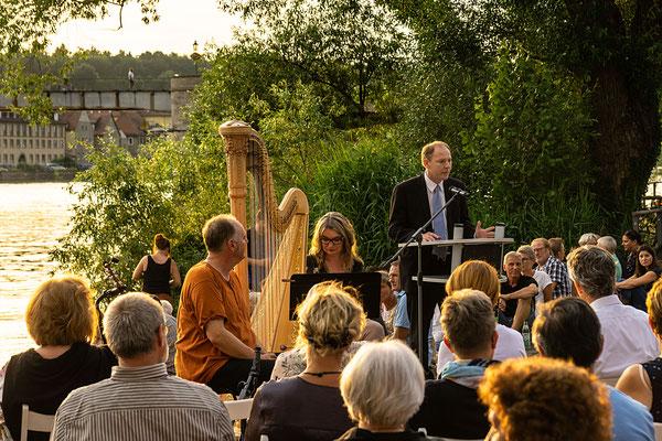 Bürgermeister Stefan Güntner begrüßte im Namen der Stadt Kitzingen die Besucher