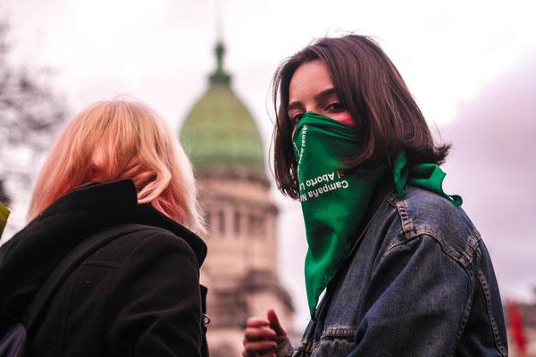 Marcha por la legalización del aborto