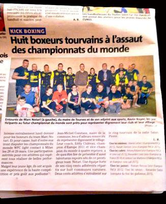 Le Team Notari dans le journal
