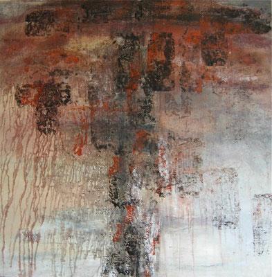 ORAGE - série Les ELEMENTS - 100 x 100
