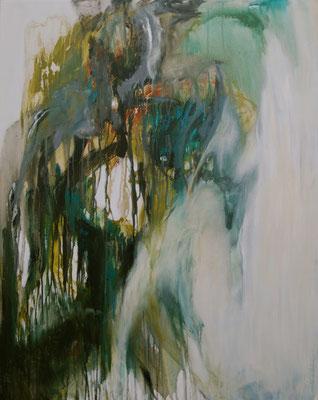 CARNAVAL - série introspection  100 x 80 (acrylique sur toile )
