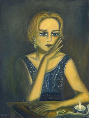 Tilda, 2016, oil on canvas, 80x60 cm