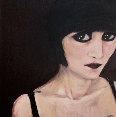 Semra, 2007, Acryl auf Leinwand, 50x50 cm