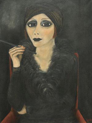 Diva, 2007, Öl auf Leinwand, 80x60 cm