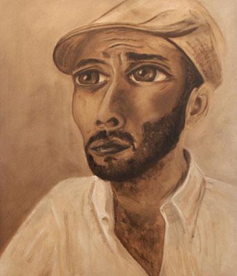 Portrait W3, 2007, Öl auf Leinwand, 120x100 cm
