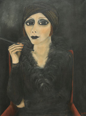 Diva, 2007, oil on canvas, 80x60 cm