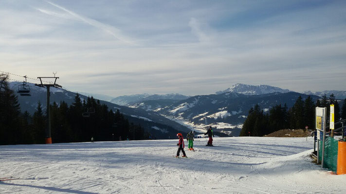 Eindrücke vom Skigebiet