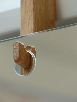 Spiegel für Harkenleiste