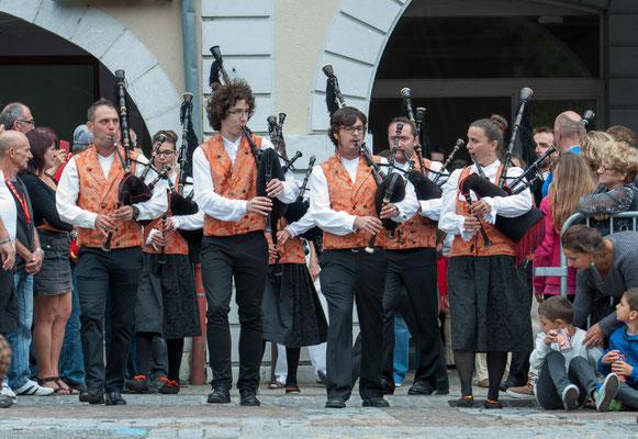 Banda Gaitas Castro Bérgidum (Espagne) Photo Phil.M - FOLKOLOR 2015