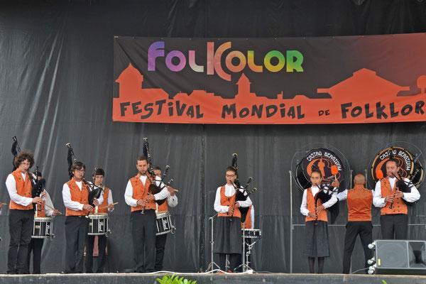 Banda Gaitas Castro Bérgidum (Espagne) Photo Georges Sigro - FOLKOLOR 2015