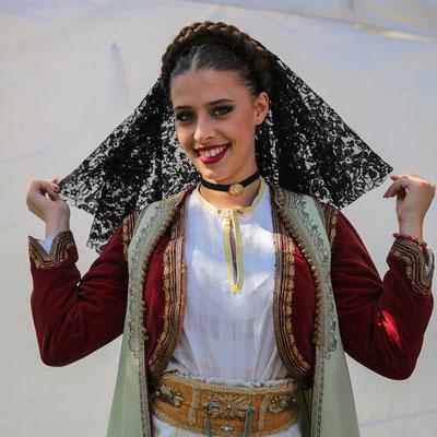 Folklorni Ansambl ''Crna Gora'' (Montenegro) Photo Michel Renard - FOLKOLOR 2015