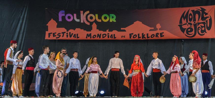 Folklorni Ansambl ''Crna Gora'' (Montenegro) Photo Georges Sigro - FOLKOLOR 2015
