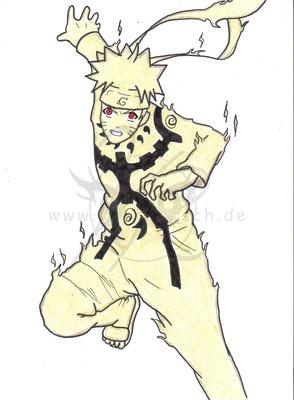 Naruto - Kyuubi Modus