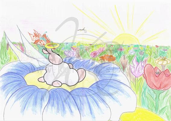 Sharpie - Blumenparadies