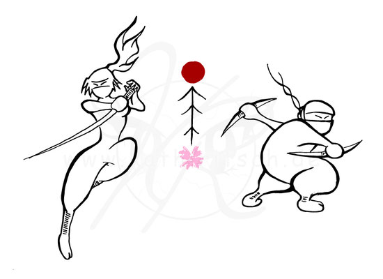 Kunoichi und Shinobi