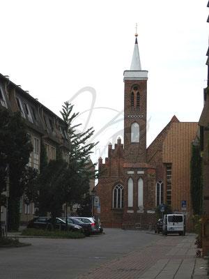Backstein-Kirche