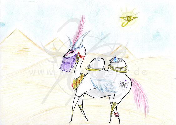 Weißes Kamel
