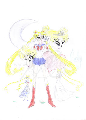 Sailor Moon - Drei Leben