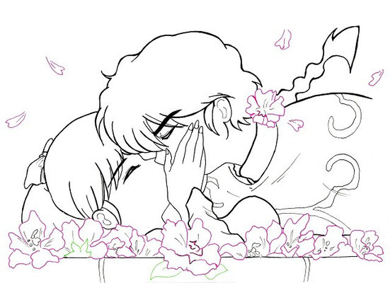 Ranma kiss Akane (traditionell) -  Lines