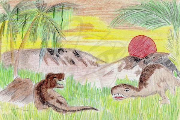 Dinos - Lebensraum