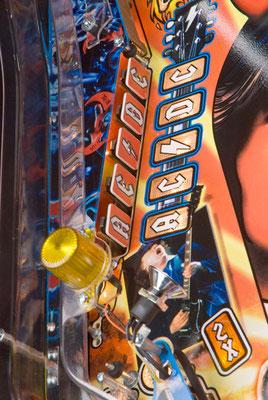 acdc pinball, le flipper planete jeux