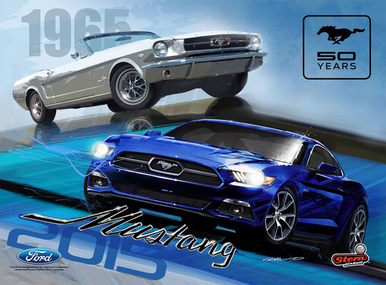 mustang LE stern