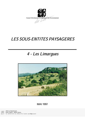Les sous-entités paysagère - Les Limargues - Mai 1997