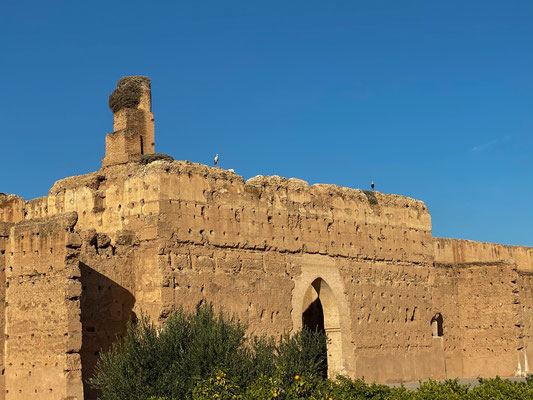 Ruine des Badia Palastes