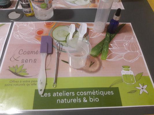 ateliers cosmétiques naturels et bio
