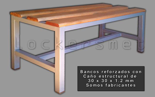BANCO DE VESTUARIO REFORZADO