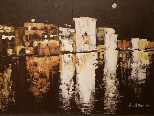 Canale Grande - 2006 - Acryl auf Leinwand - 60x80