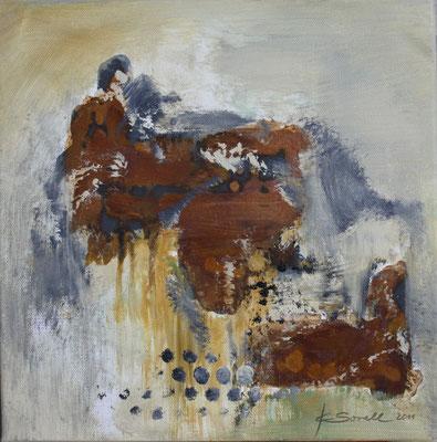 Rost - 2011 - Acryl auf Leinwand - 30x30