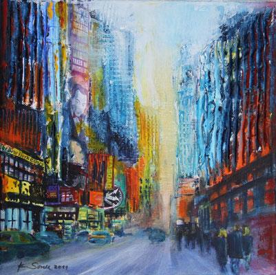 NY Mason - 2011 - Acryl auf Leinwand - 30x30