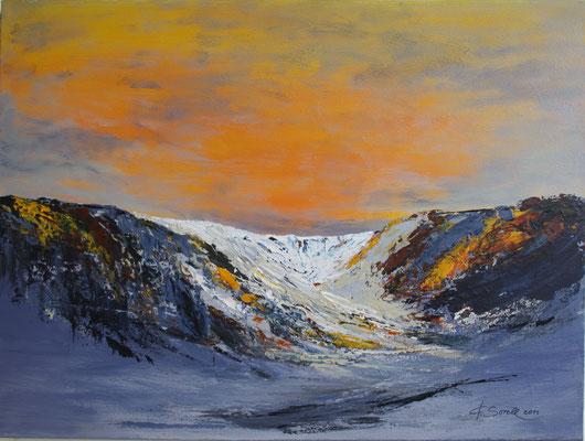 Gletscher - 2011 - Acryl auf Leinwand - 60x80