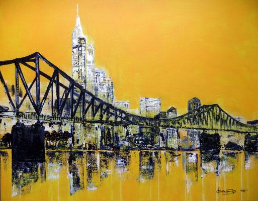 Frankfurt Yellow - 2015 - Acryl auf Leinwand - 80x100