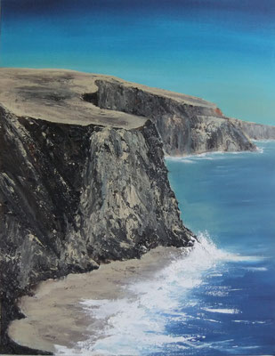 Felsenküste - 2011 - Acryl auf Leinwand - 60x80