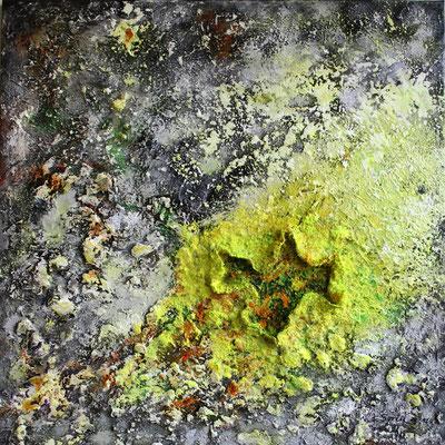 Schwefelblüte - 2012 - Acryl auf Leinwand - 60x60