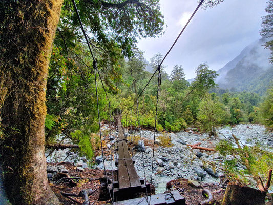 Zugang zum Cochamó-Nationalpark