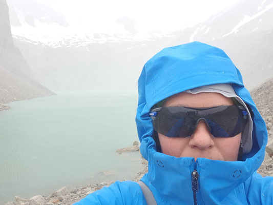 400 m Anstieg im Schneesturm hat Eigenwert. Wer braucht schon Torres?