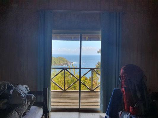 Hostel mit Meerblick