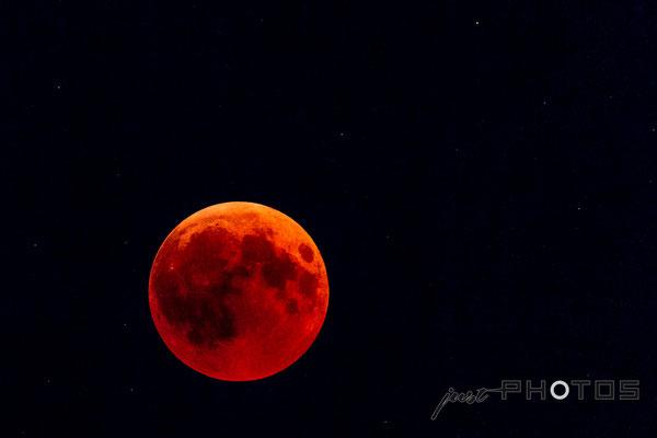 Blutmond - Mondfinsternis