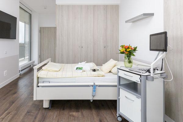 Auftragsarbeit für Benedictus-Krankenhaus Tutzing: Patienten-Suite