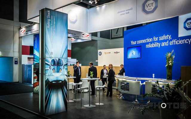 TÜV SÜD Rail [ Messestand InnoTrans Berlin ]