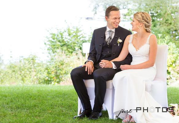Hochzeit [ Trauungszeremonie am Starnberger See | Seerestaurant Marina, Bernried ]